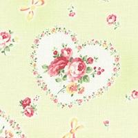 Lecien Princess Rose hearts hellgrün 31266-60