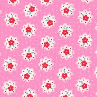 Lecien flower sugar pink 31029-22
