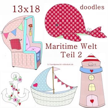 Stickdatei Serie Maritime Welt Serie 2 13x18