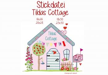 Stickdatei Tildas Cottage doodle