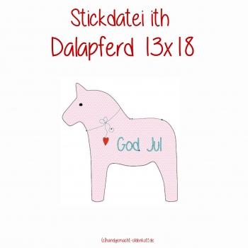 Stickdatei Dalapferd ith 13x18