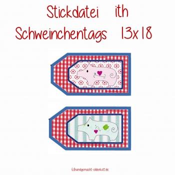 Stickdatei Schweinchentags 13x18