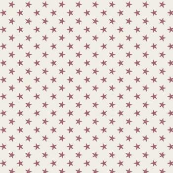 Tilda Stoff Tiny Star light red 130037