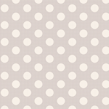 Tilda Stoff medium dots light grey 130008