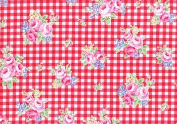 Lecien flower sugar red 31270-30