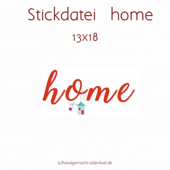 Stickdatei home 13x18
