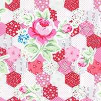 Lecien flower sugar red 31128-30