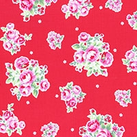 Lecien flower sugar red 31129-30