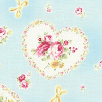 Lecien Princess Rose blue 31266-70