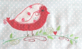 Stickdatei Traumvogel doodle 13x18