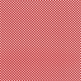RJR Patchworkstoff red dots white 2961-16