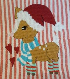 Stickdatei Weihnachtsbambi 13x18
