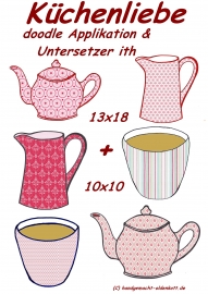 Stickdatei Serie Kuechenliebe 10x10   13x18