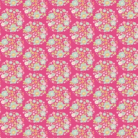 Tilda Stoff flower nest pink 481309