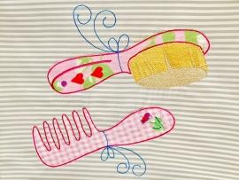 Stickdatei Serie Im Badezimmer doodle 13x18
