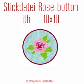 Stickdatei rosebutton 10x10