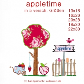 Stickdatei appletime