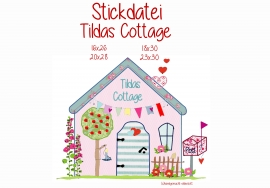 Stickdatei Tildas Cottage