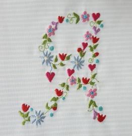 Stickdatei Blumen A 13x18