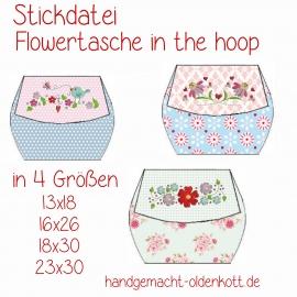Stickdatei Flowertaschen ith