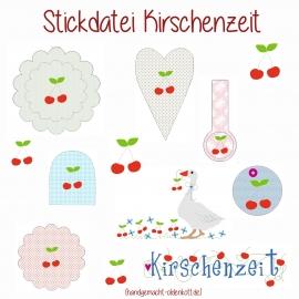 Stickdatei Kirschenzeit ith