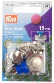 Prym Überziehbare Knöpfe 15mm 323215